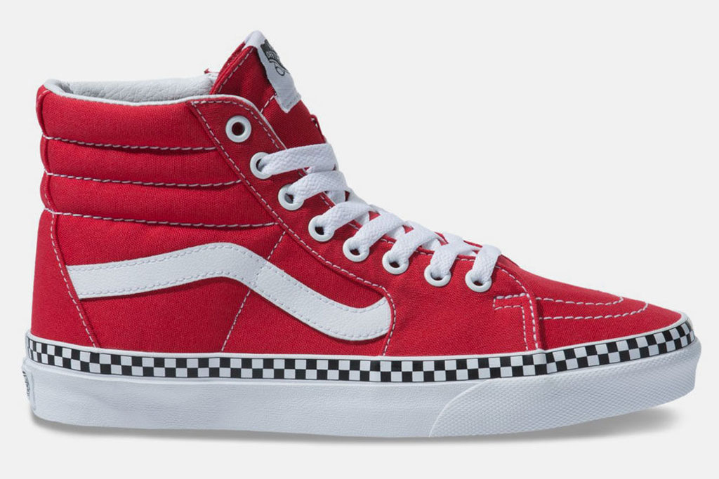Vans Sk-8, sneakers, red shoes