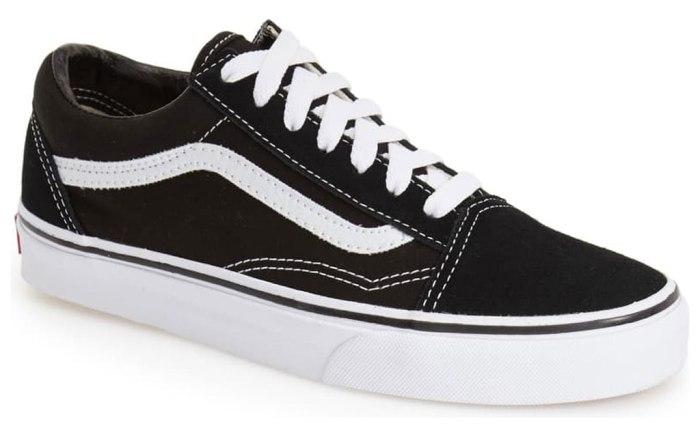 Vans Old Skool, black sneakers, Nordstrom