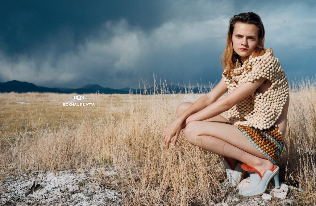 Ugg + Eckhaus Latta woman