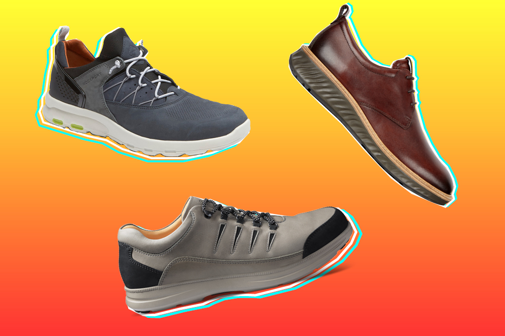 Comfort Shoes: Ecco and Clarks Among
