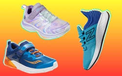 Athletic shoes back-to-school