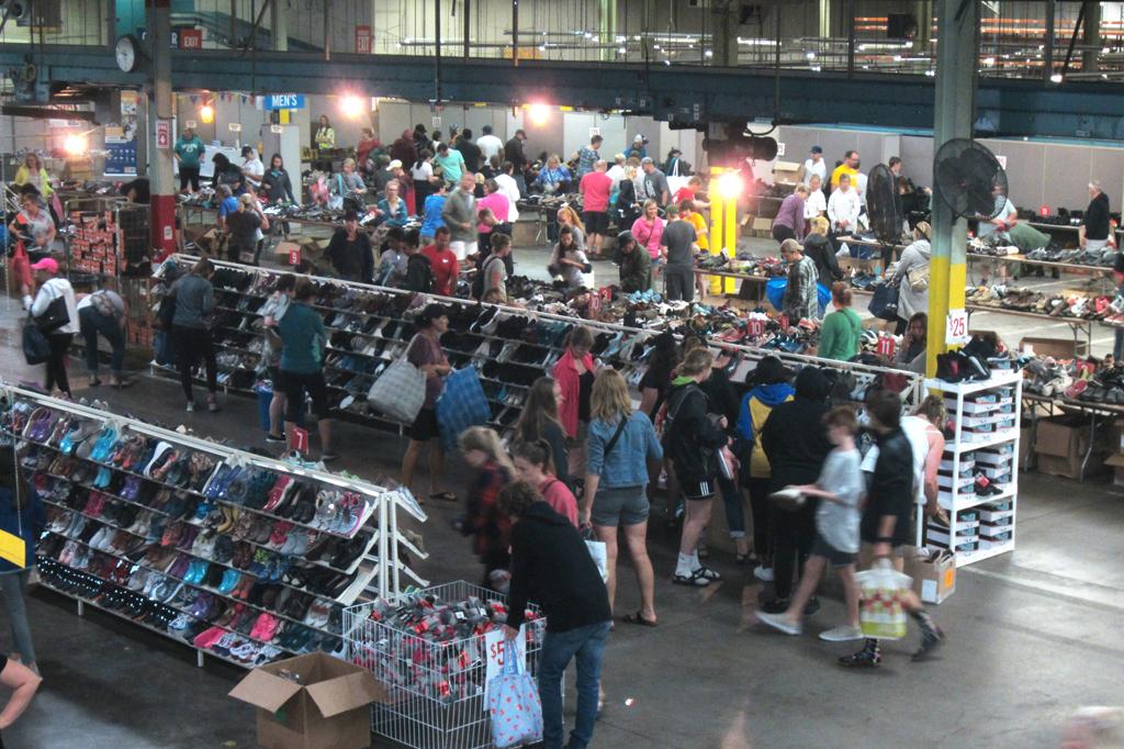Wolverine Worldwide United Way Warehouse Sale