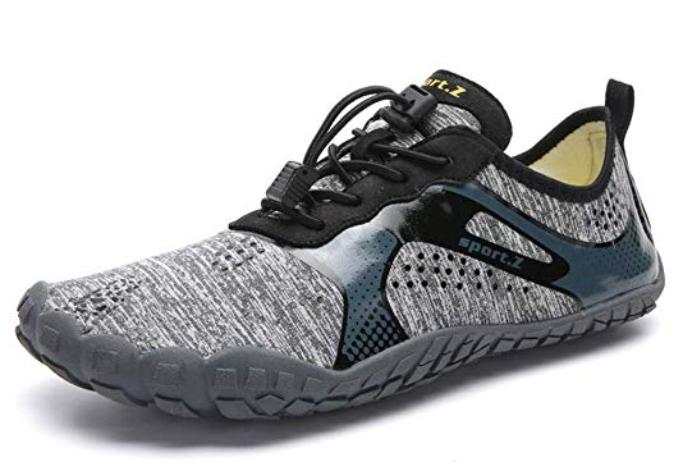 XIDISO Mens Minimalist Barefoot Trail Running Shoes