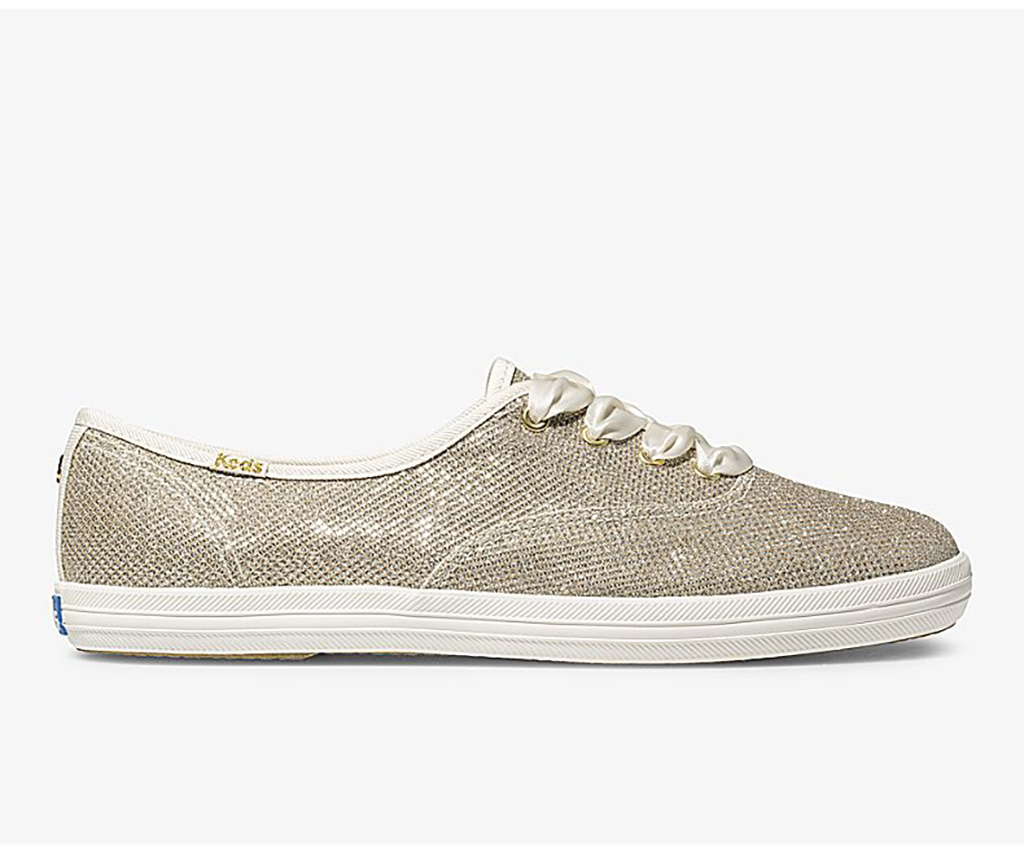 1920s fashion trends, kate spade x keds, glitter champion sneaker, 1920s style