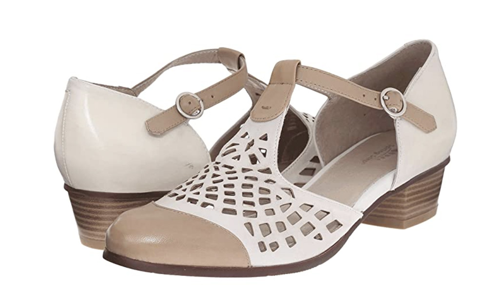 1920s fashion trends, Spring Step Maiche sandals, 1920 shoes, vintage inspired comfort shoes