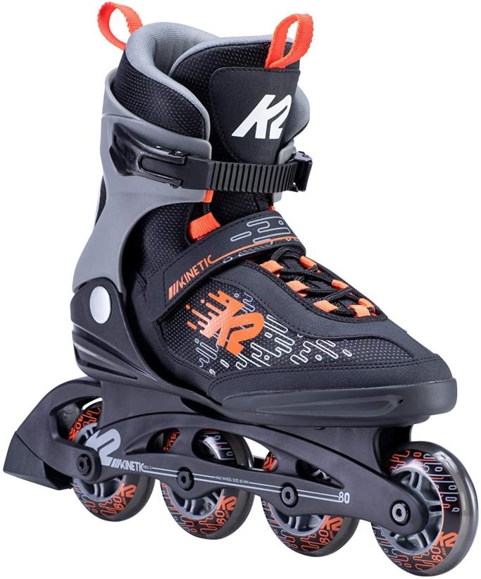 K2 Skate Kinetic 80 Inline Skates, men's inline sksates
