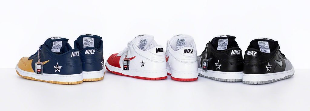 Supreme x Nike SB Dunk Low Collab F/W 2019