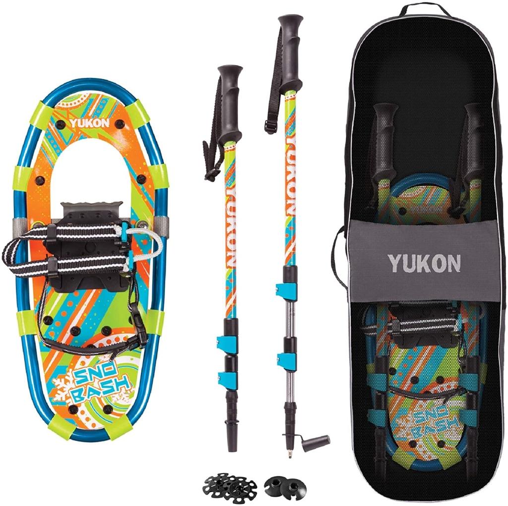 Yukon Sno-Bash Kids Snowshoe, snowshoes for kids