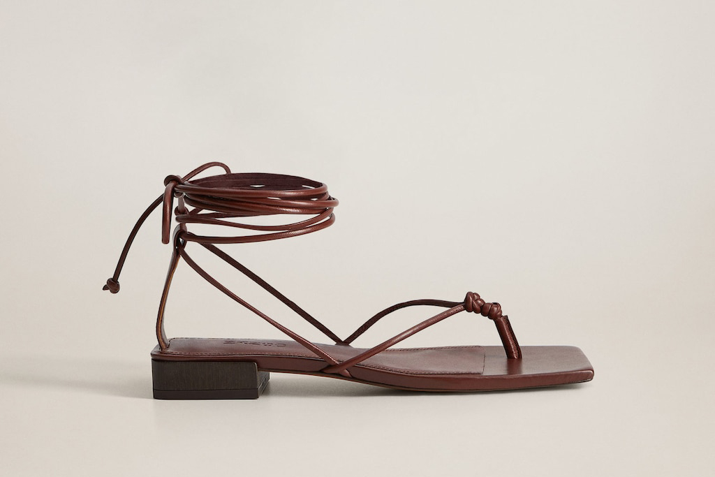 mango, strappy style, shoe styles 90s