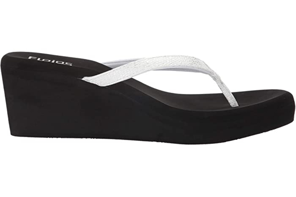 chunky flip flop, 90s shoe trend, flojos