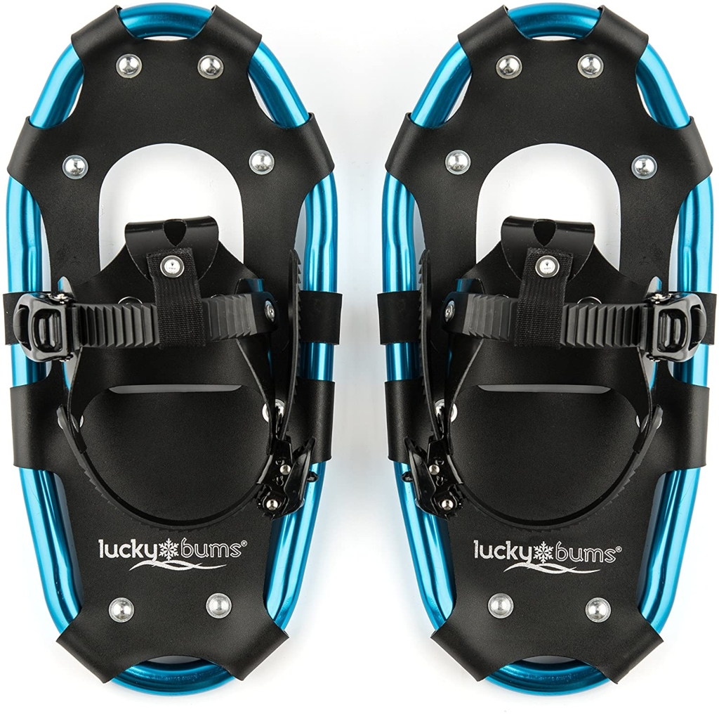 Lucky Bums Youth Snowshoes, snowshoes for kids