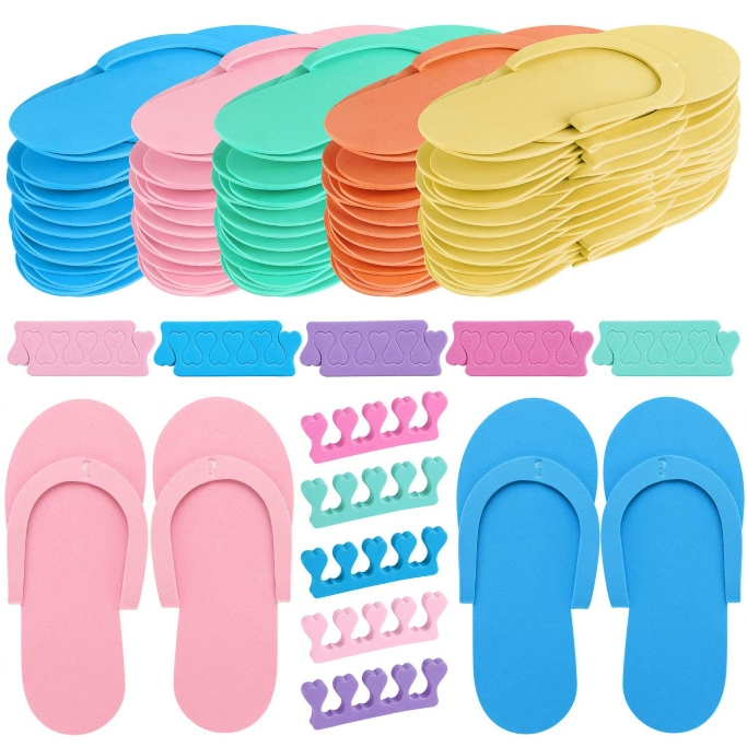 Tbestmax Pedicure Slippers