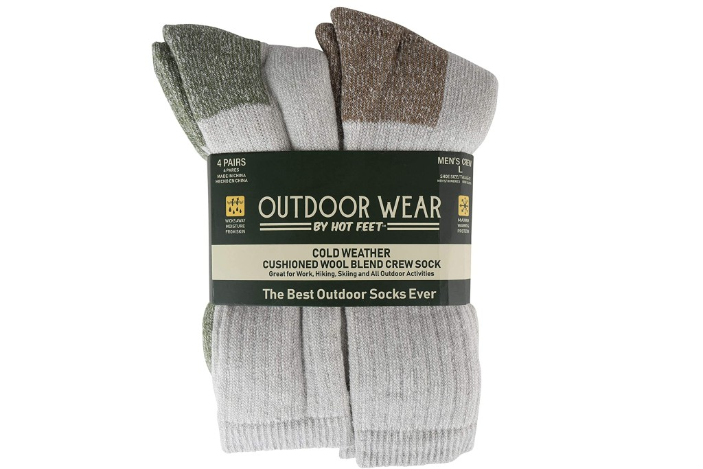 Active Work and Outdoors Socks, men's cold weather socks