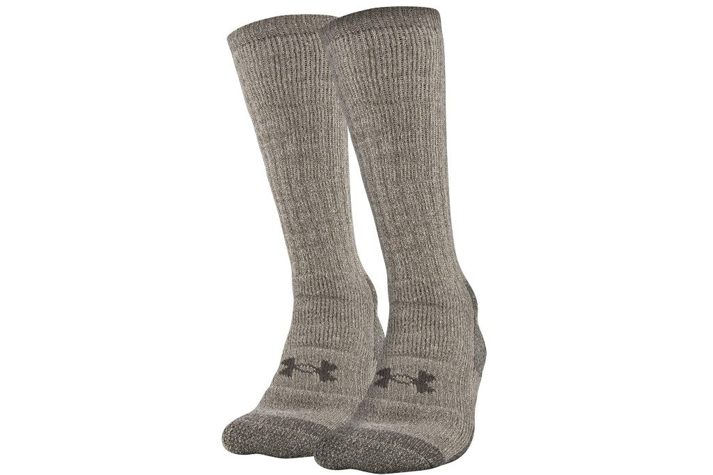 men's cold weather socks, Under Armour Hitch Coldgear Boot Socks