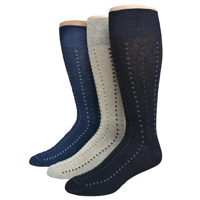 men's big and tall dress socks, America's Socks Big & Tall Pattern Dress Socks