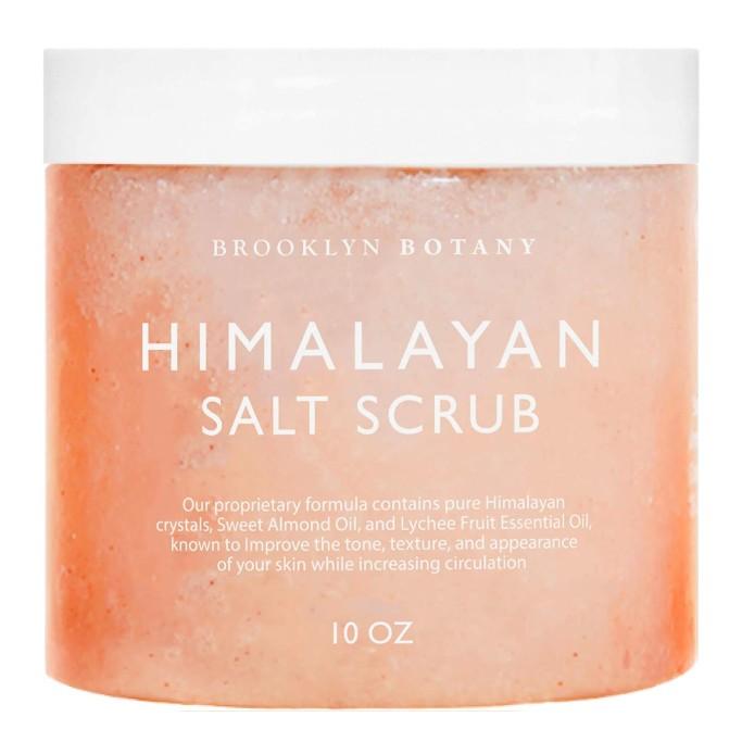 Brooklyn Botany Himalayan Body Scrub & Foot Scrub, foot scrubs with essential oils