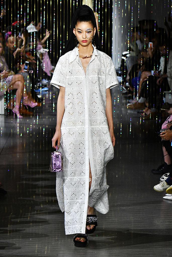 Area spring '20, New York Fashion Week.