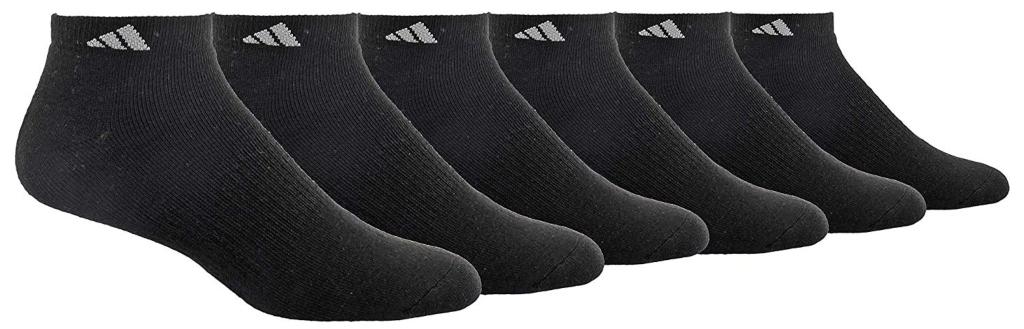 adidas men's low-cut crew socks