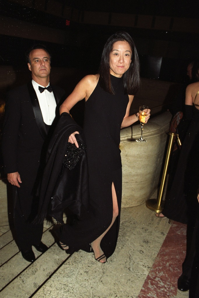 Vera Wang attends the CFDA Fashion Awards at the New York State Theater at Lincoln Center on February 3, 1997 in New York...Article title: 'The CFDA Awards: Veterans DayCFDA 1997, New York