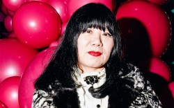 Anna Sui, fashion designer, nyfw