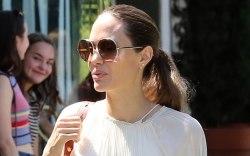 Angelina Jolie, los ángeles, Labor Day,