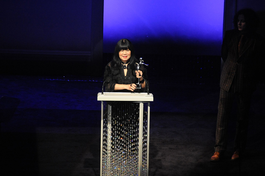 Designer Anna Sui attends the 2009 CFDA Fashion Awards at Alice Tully Hall in New York City. Sui received the evening's 'Geoffrey Beene Lifetime Achievement Award.'2009 CFDA Awards, New York, Anna Sui Retrospective