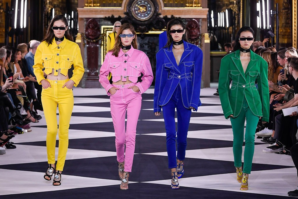 Paris Fashion Week Trends Why 90s Trends Are Back For Spring 2020 Footwear News