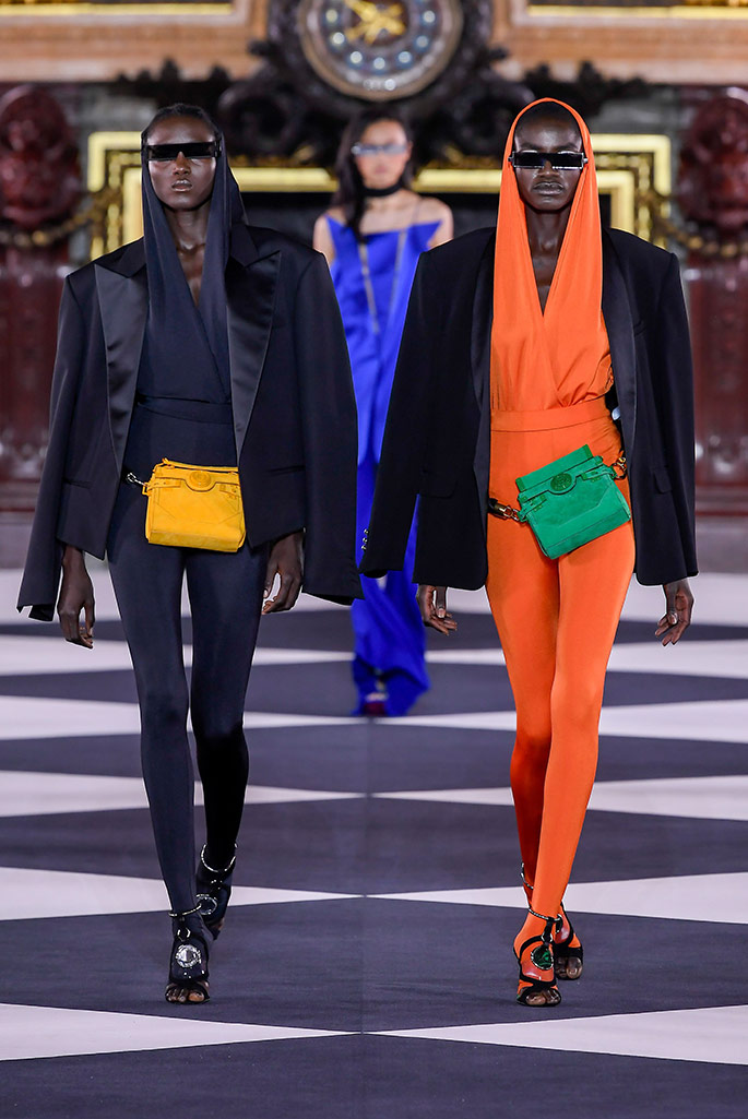 Balmain, Spring 2020, Paris Fashion Week.