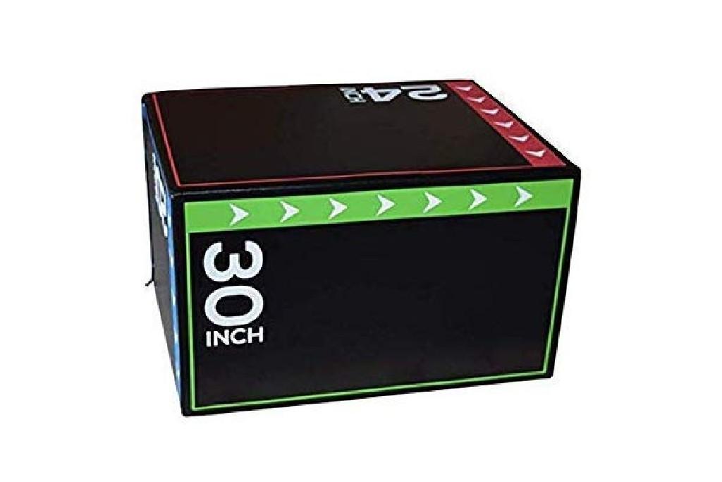 BalanceFrom 3 in 1 Foam Plyometric Box