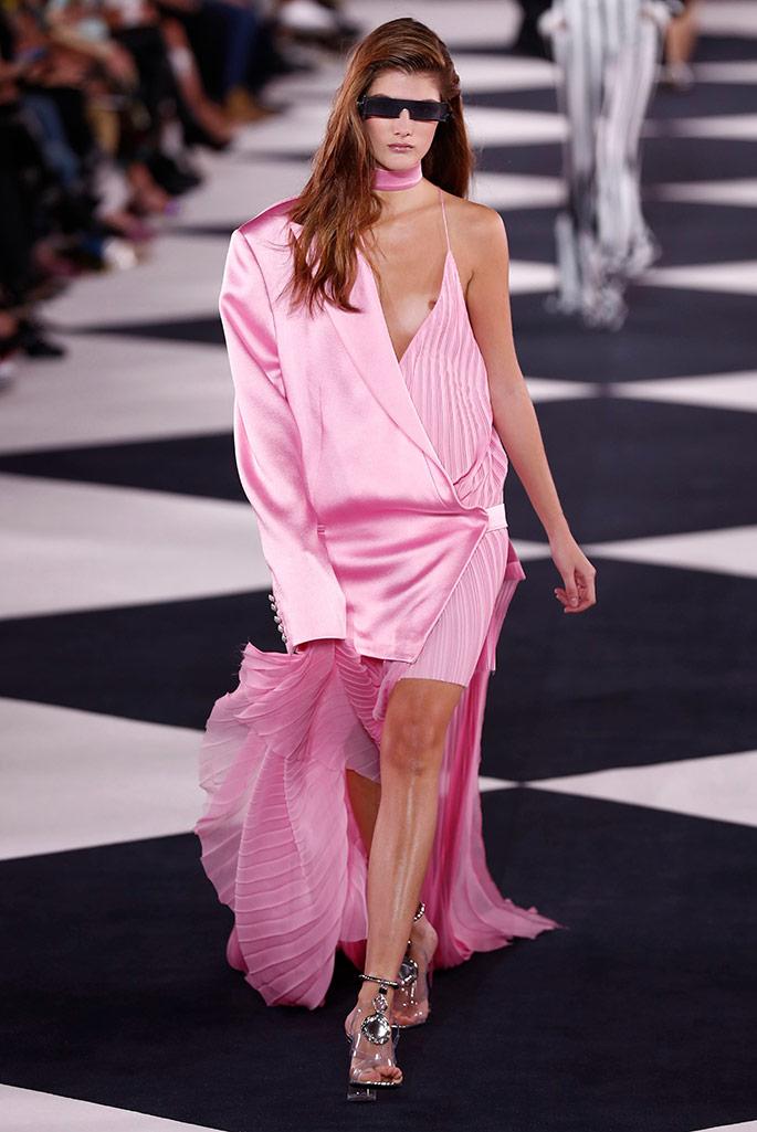 Balmain spring '20, Paris Fashion Week.
