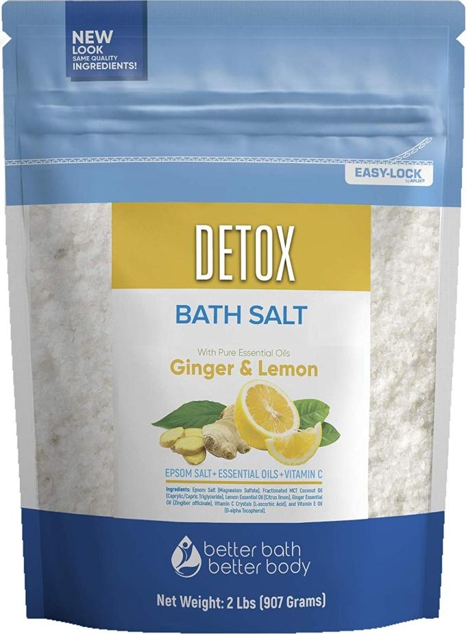 better bath better body detox bath salt with ginger and lemon