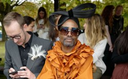 Billy Porter, celebrity style, front row,