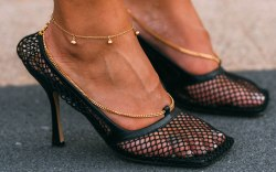 Bottega Veneta, mesh pumps, Milan fashion
