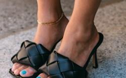 Bottega Veneta, tiffany hsu, knotted sandals,