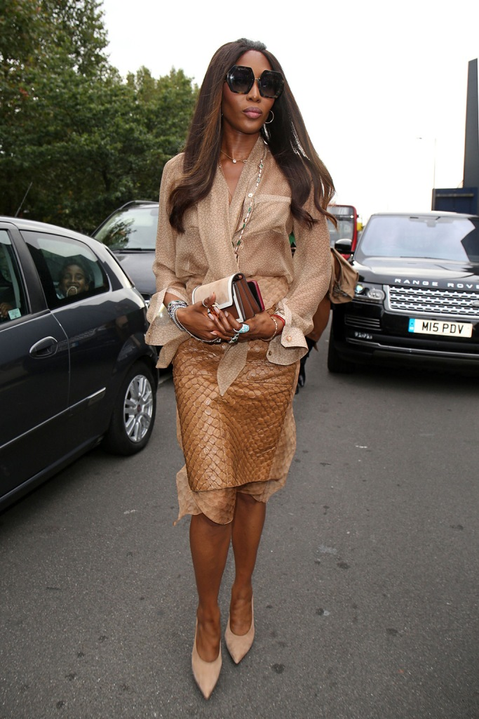 Naomi CampbellBurberry show, Arrivals, London Fashion Week, UK - 16 Sep 2019