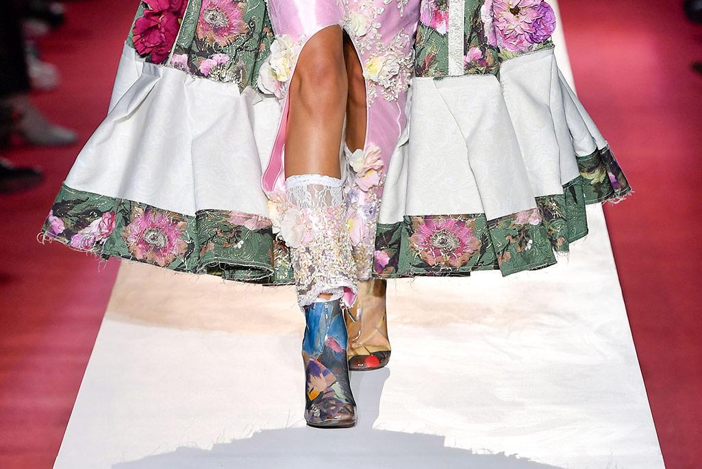 Comme des Garcons X Repetto, spring '20, Paris Fashion Week.
