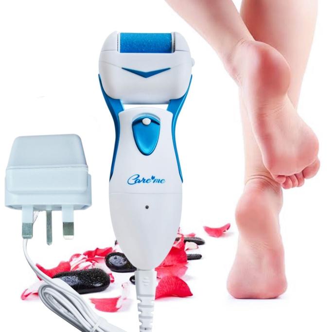 care me electric foot callus remover, foot exfoliator