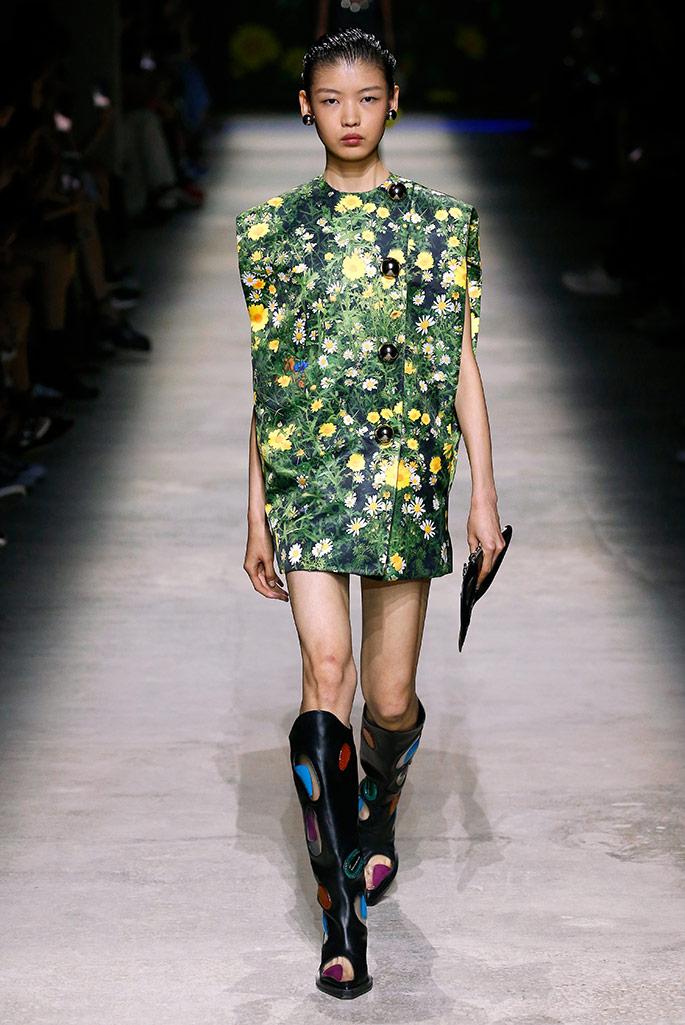 Christopher Kane, London Fashion Week, spring '20.