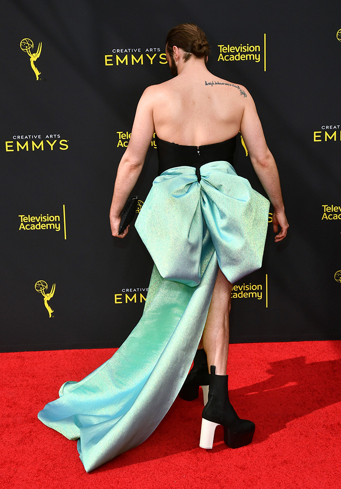 Jonathan Van Ness71st Annual Primetime Creative Arts Emmy Awards, Day 1, Arrivals, Microsoft Theater, Los Angeles, USA - 14 Sep 2019