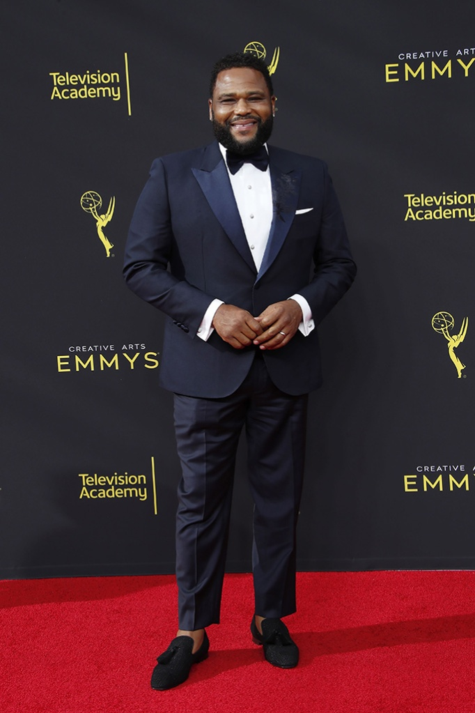 Anthony Anderson arrives on the red carpet for the 2019 Creative Arts Emmy Awards at the Microsoft Theater in Los Angeles, California, USA, 14 September 2019. The Creative Arts Emmy Awards honor excellence in Television technical categories such as makeup, casting direction, costume design, editing and cinematography. The 71st Primetime Emmy Awards Ceremony will take place on 22 September 2019.2019 Creative Arts Emmys, Los Angeles, USA - 14 Sep 2019