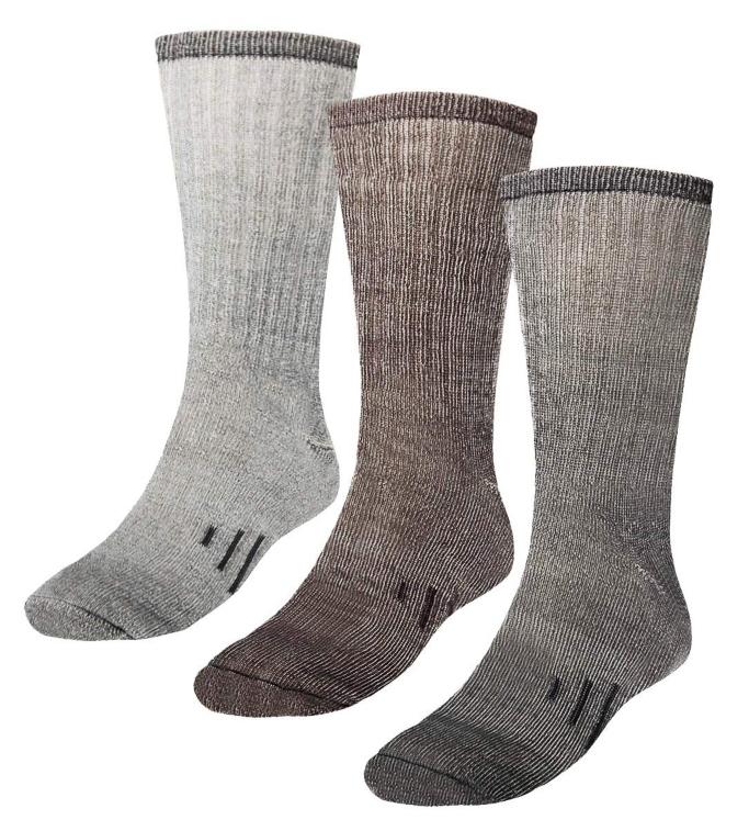 DG Hill merino wool men's socks, cold weather socks for men