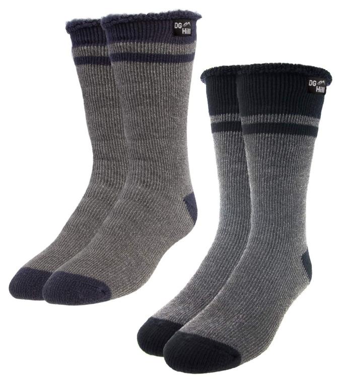 DG Hill men's thick boot socks