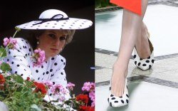 princess Diana, tory burch, runway, spring