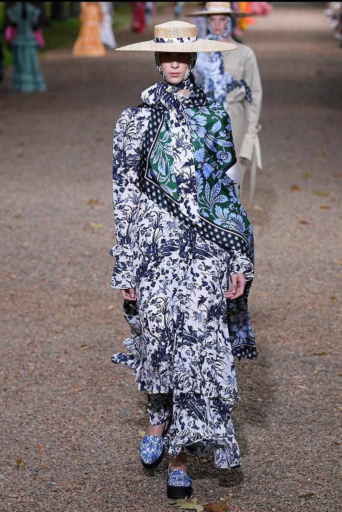 Erdem, London Fashion Week, spring, 20.