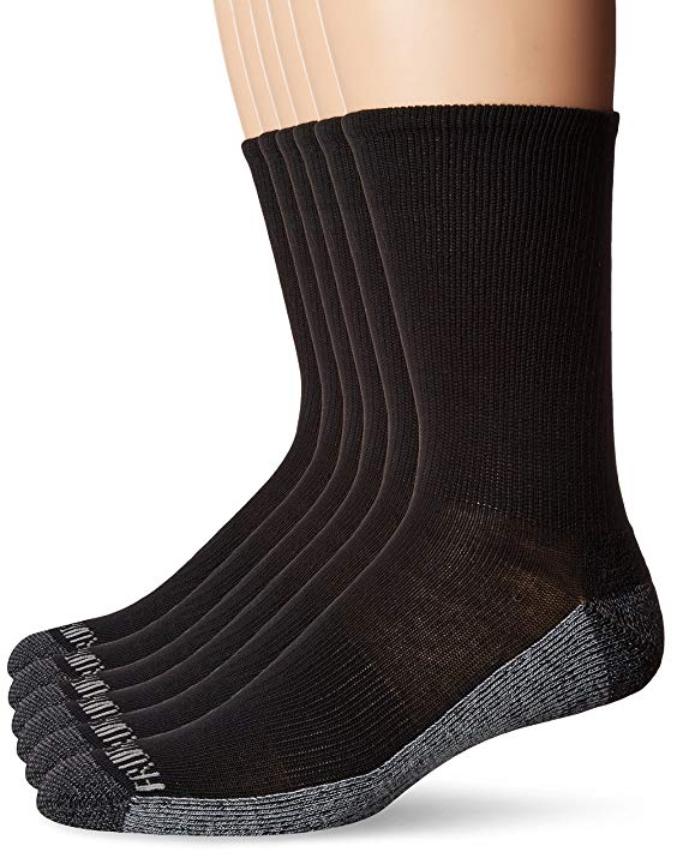 fruit of the loom men's casual socks