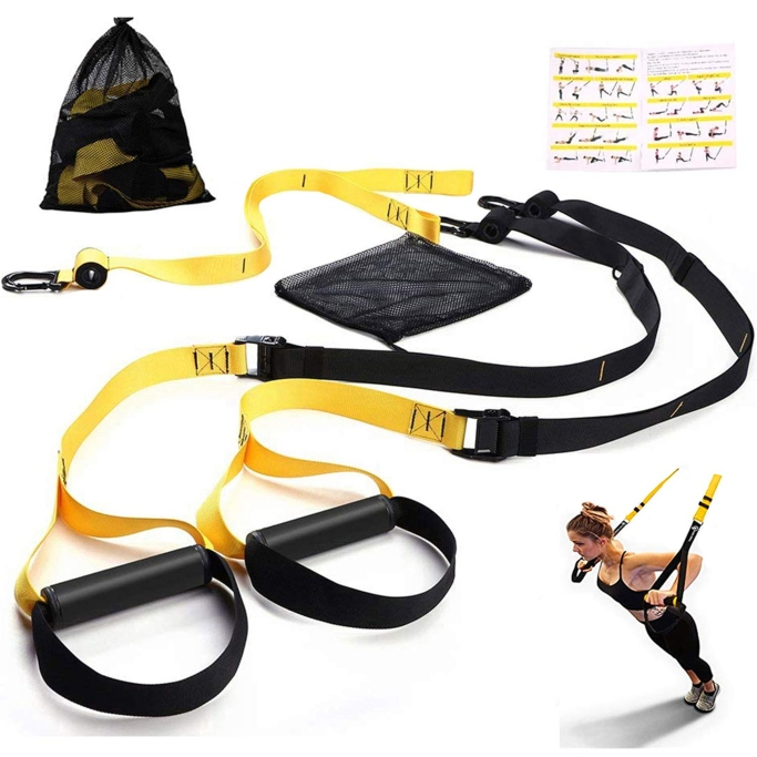 Futureup Sea Area Sports Bodyweight Fitness Resistance Trainer Kit