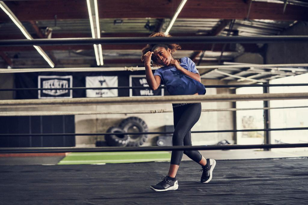 Project Rock, under armour, fall 2019, ad campaign , young boxer