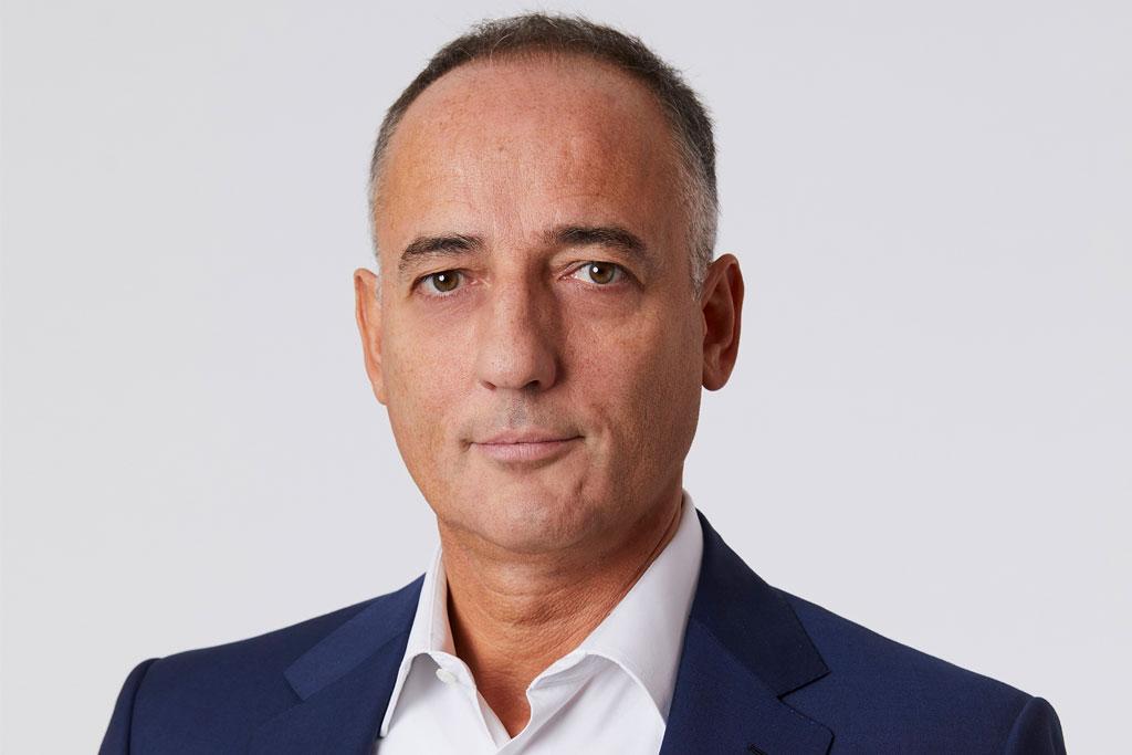 Giuseppe Zanotti CEO Eugenio Manghi.