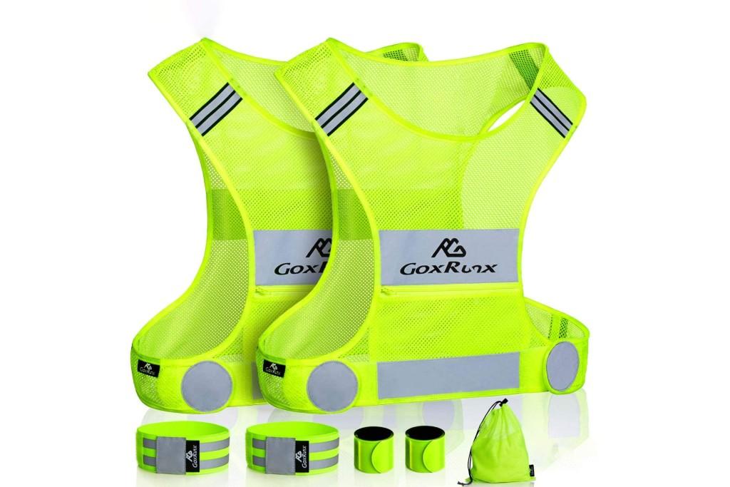 GoxRunx 2-Pack Reflective Vest & Running Gear