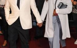 Kim Jones and Naomi Campbell